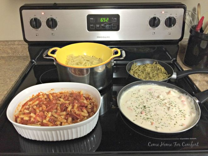 Cook Once Eat Twice Recipes that will save time in the kitchen via ComHomeForComfort.com 2