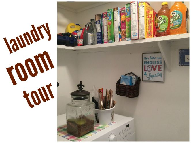 Laundry Room Tour Via ComeHomeForComfort.com