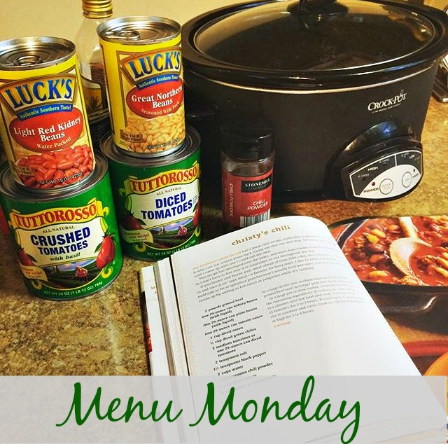 Menu Monday via ComeHomeForComfort.com