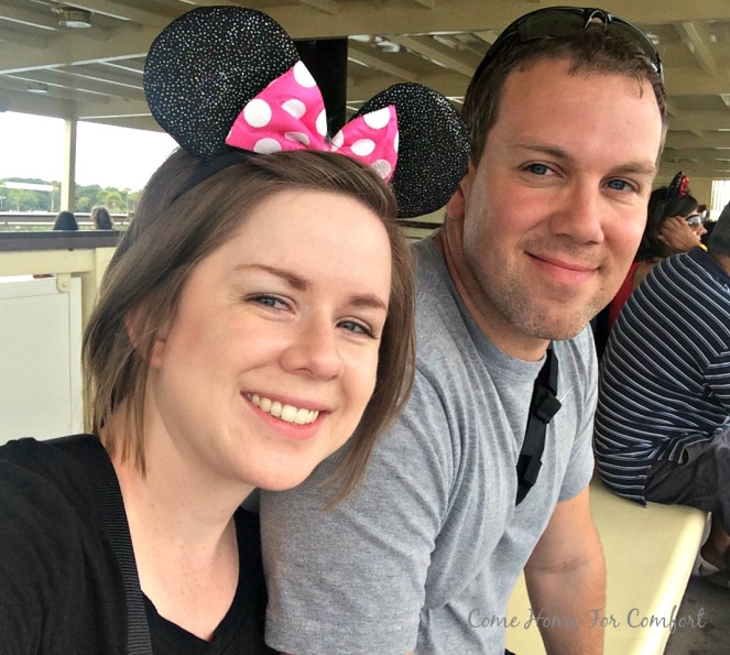 We loved riding the ferry to Magic Kingdom! It's the best way to see the castle for the first time!