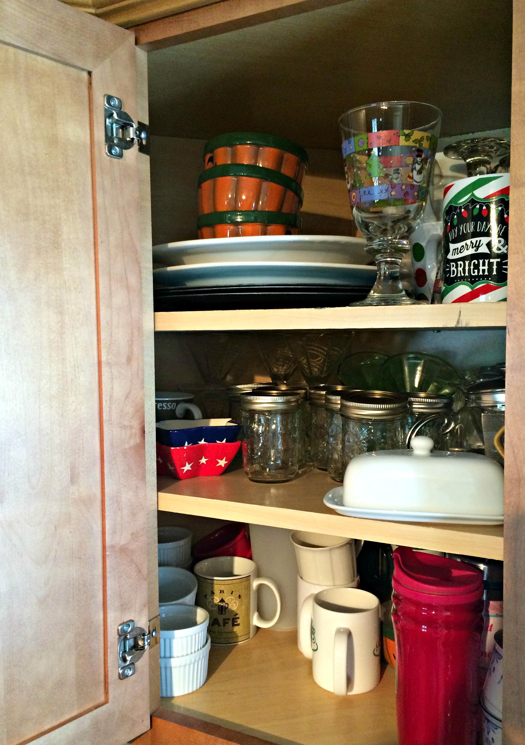 Organizing Corner Cabinet 2