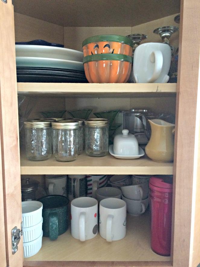 Organizing Corner Cabinet 4
