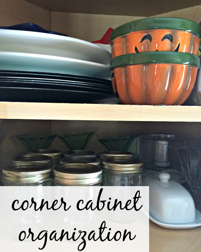 Organizing Corner Cabinet 6