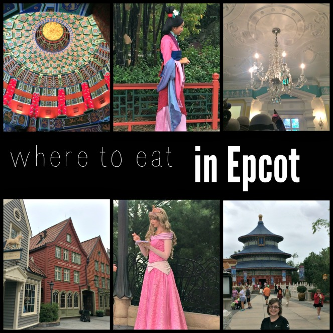 The best places to eat in Epcot!