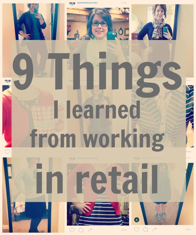 9 Things I Learned From Working in Retail