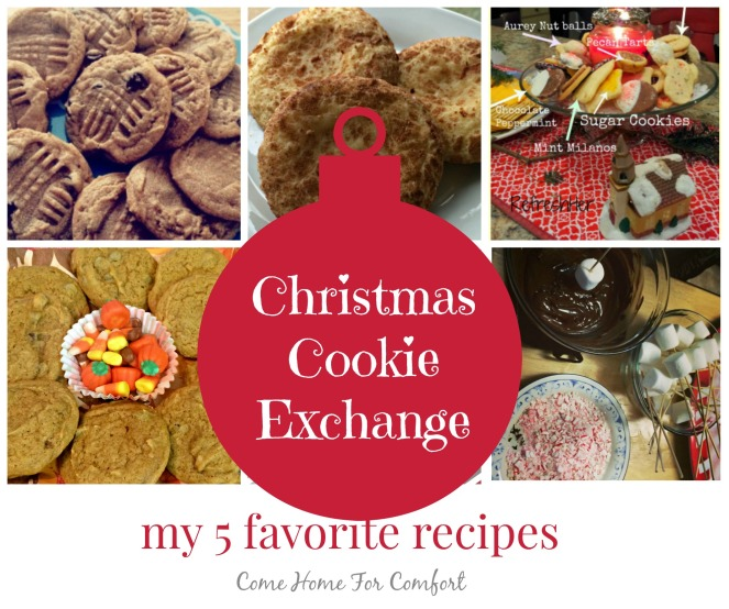 Christmas Cookie Exchange via ComeHomeForComfort.com