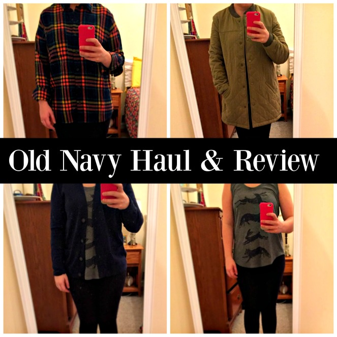 Old Navy Haul and Review