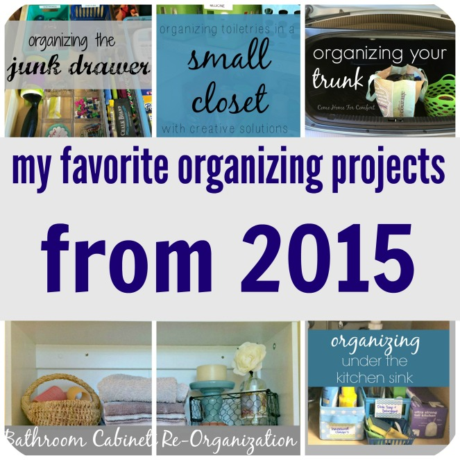 Organizing The Best of 2015
