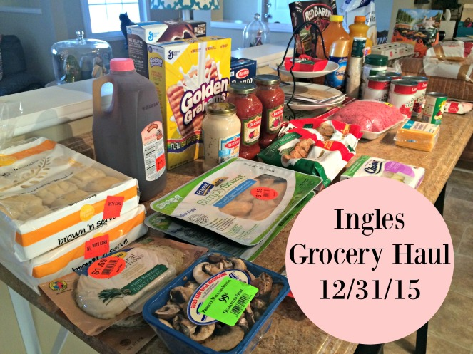 Ingles Grocery Haul 123115