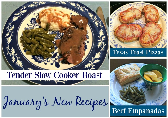 January's New Recipes