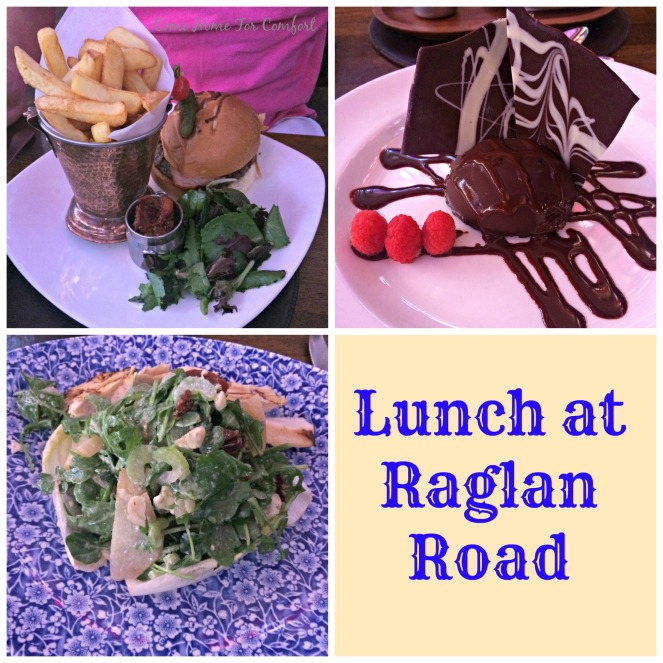 Lunch at Raglan Road