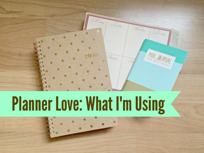 Planner Love What I'm Using
