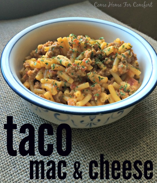 Taco Mac and Cheese