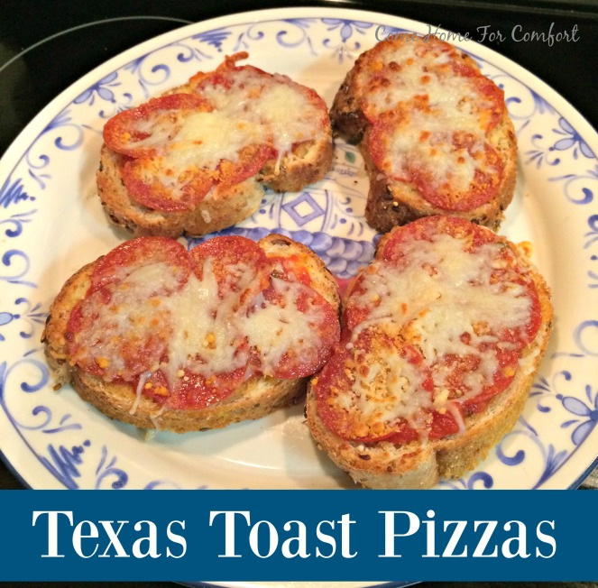 Texas Toast Pizzas