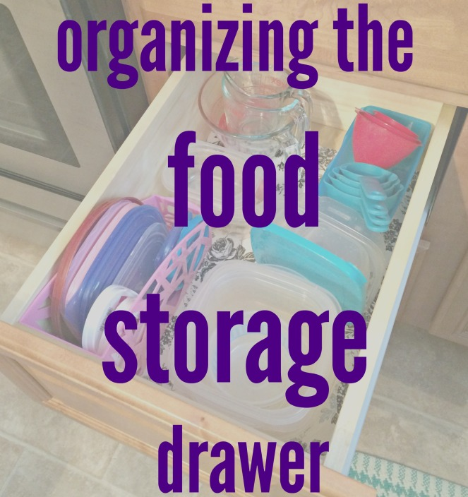 Food storage organization cover