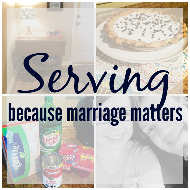 Serving Marriage Matters