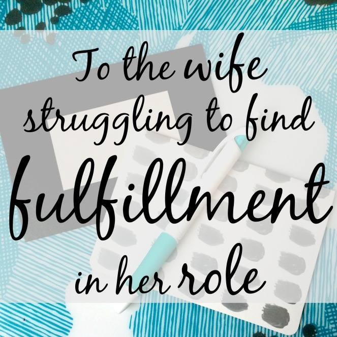 Do you struggle to find fulfillment in your role as a housewife via ComeHomeForComfort.com