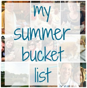 My Summer Bucket List via ComeHomeForComfort.com