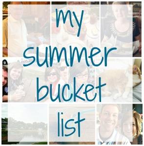 My Summer Bucket List via ComeHomeForComfort.com