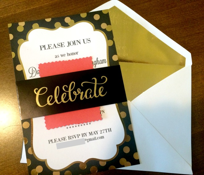 35th anniversary party planning invitation