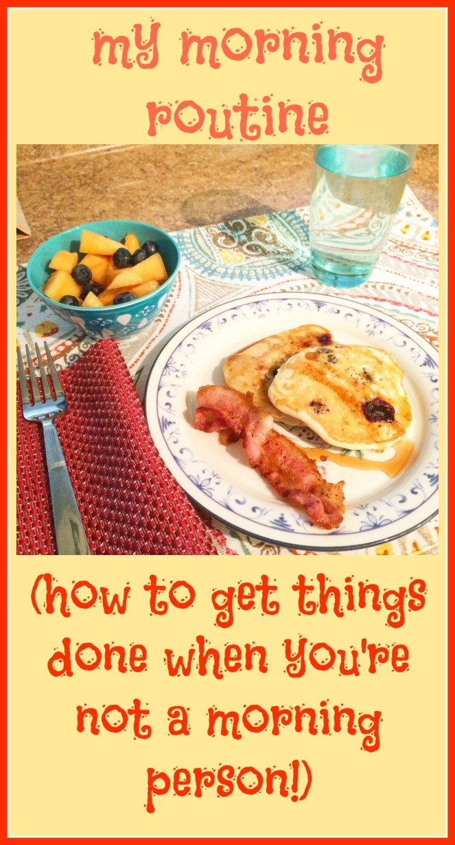 How to get things done when you're not a morning person via ComeHomeForComfort.com