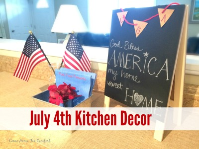 July 4th Kitchen Decor