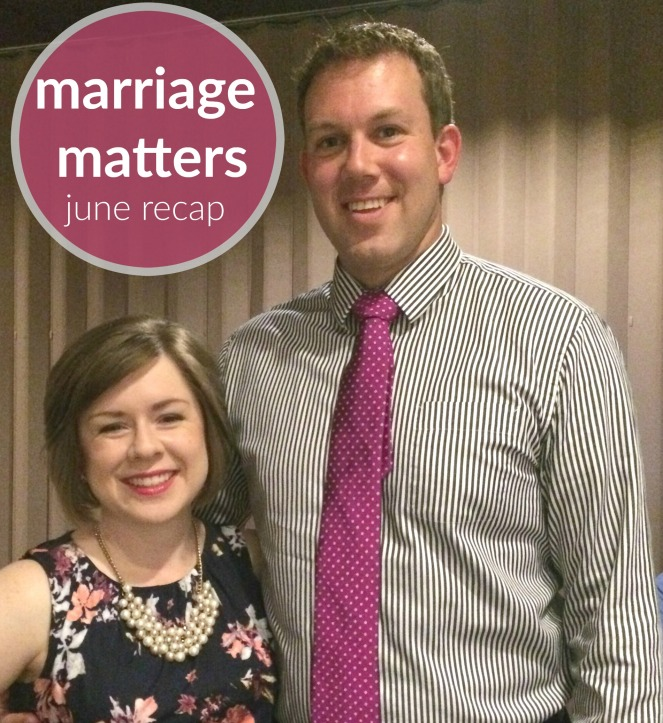 marriage matters june recap post