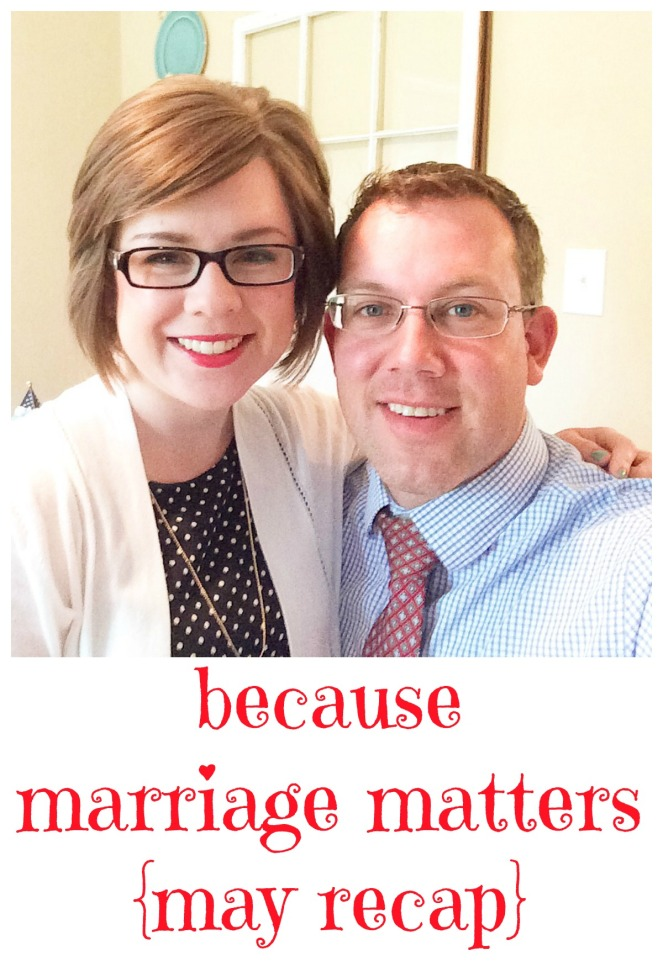 Marriage Matters tips for doing things every day to strengthen your marriage via ComeHomeForComfort.com