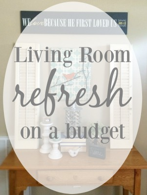 How to refresh a room on a budget via ComeHomeForComfort.com