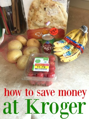 How to save money at Kroger via ComeHomeForComfort.com