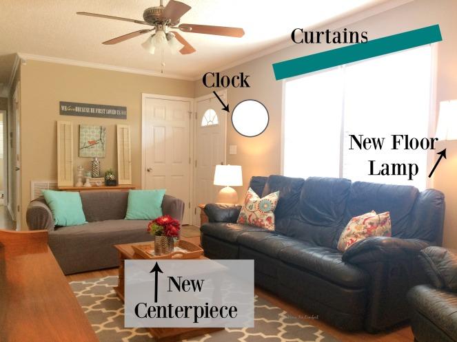 Living Room Updates Wish List