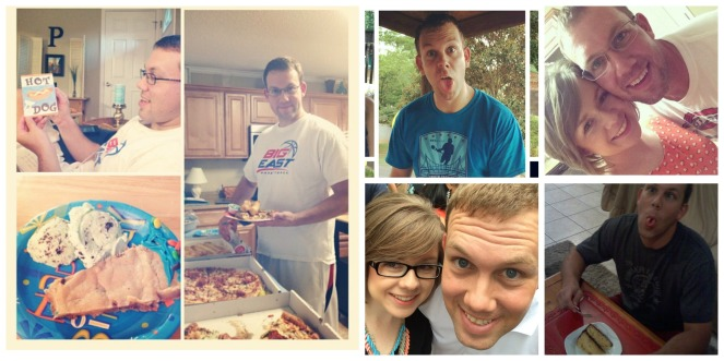paul's birthday collage