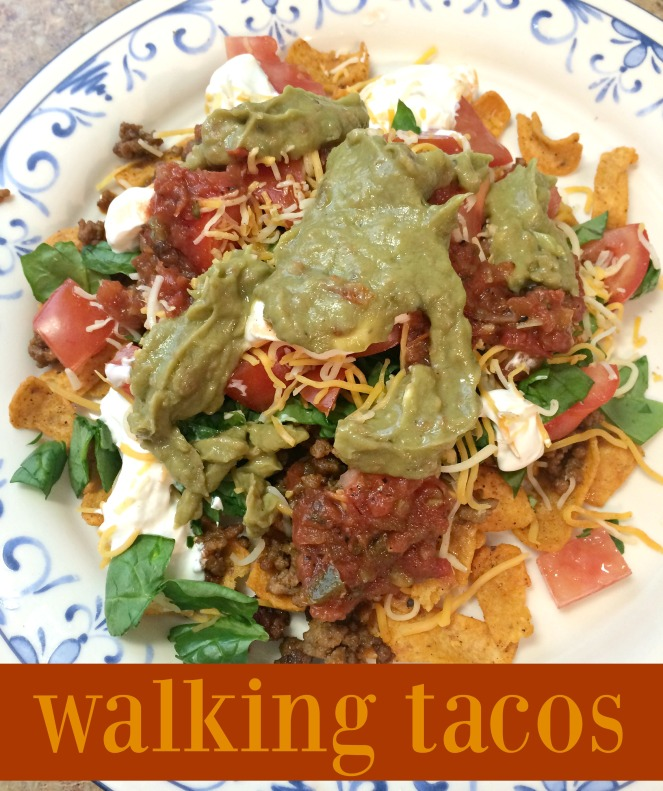 walking tacos via comehomeforcomfort.com