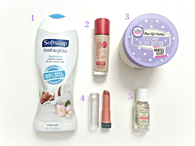My top 5 summer beauty faves