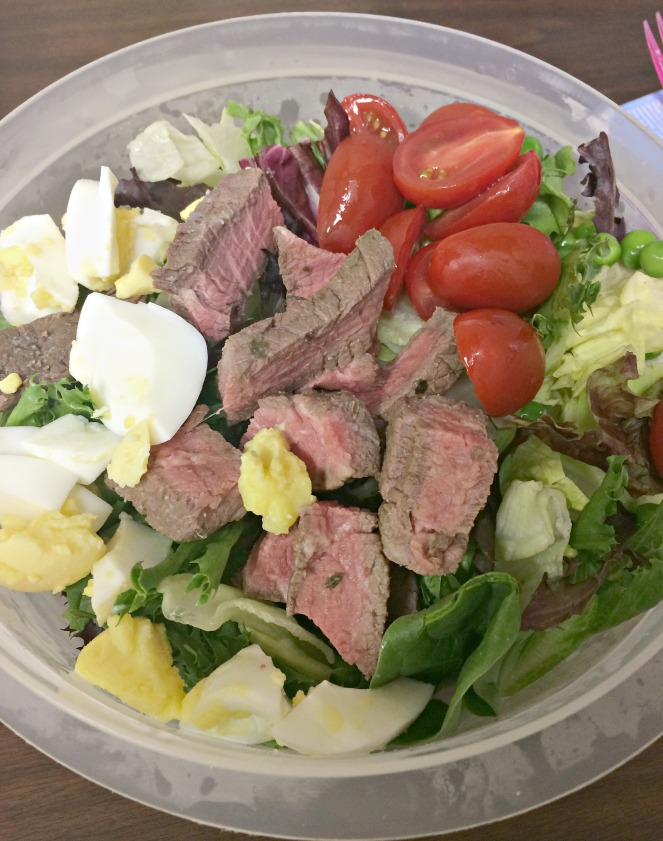 Steak Salad for a Work Day Lunch