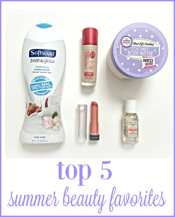 The top 5 beauty products I have loved all summer via ComeHomeForComfort.com