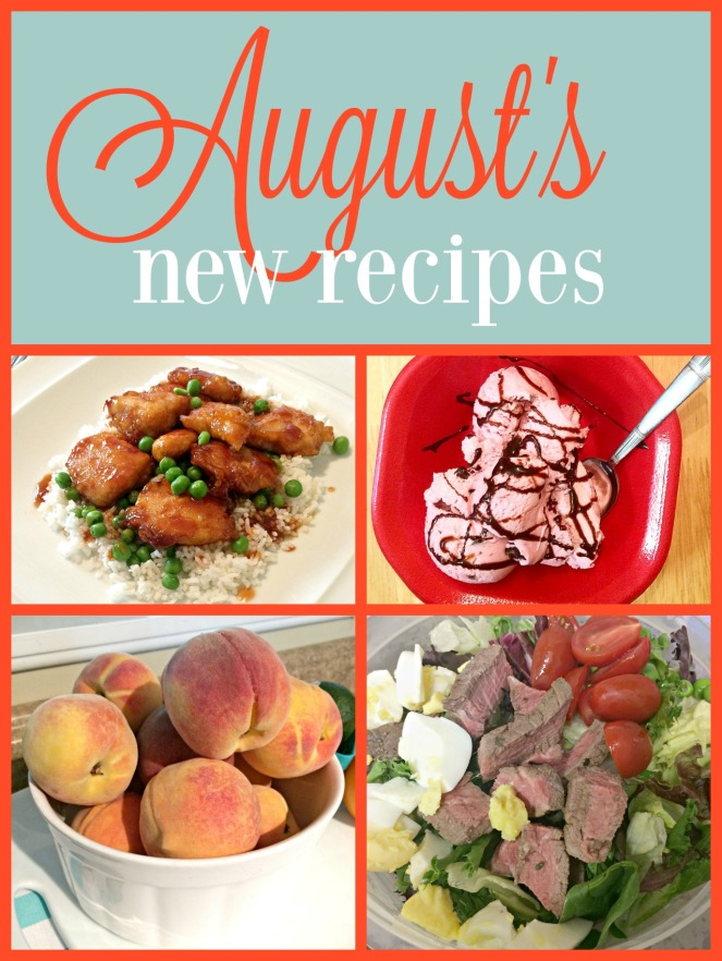 What we ate in August including new recipes we'll make again! via ComeHomeForComfort.com