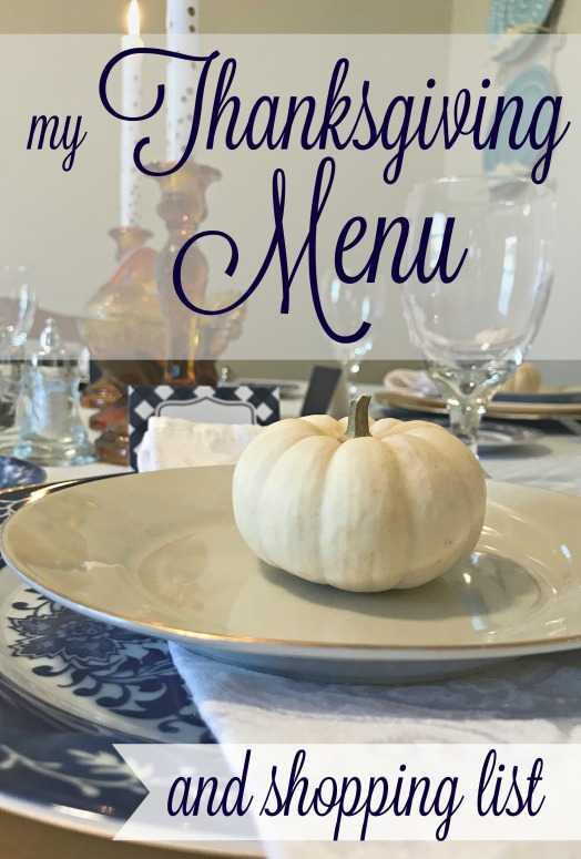 my-thanksgiving-menu-and-shopping-list
