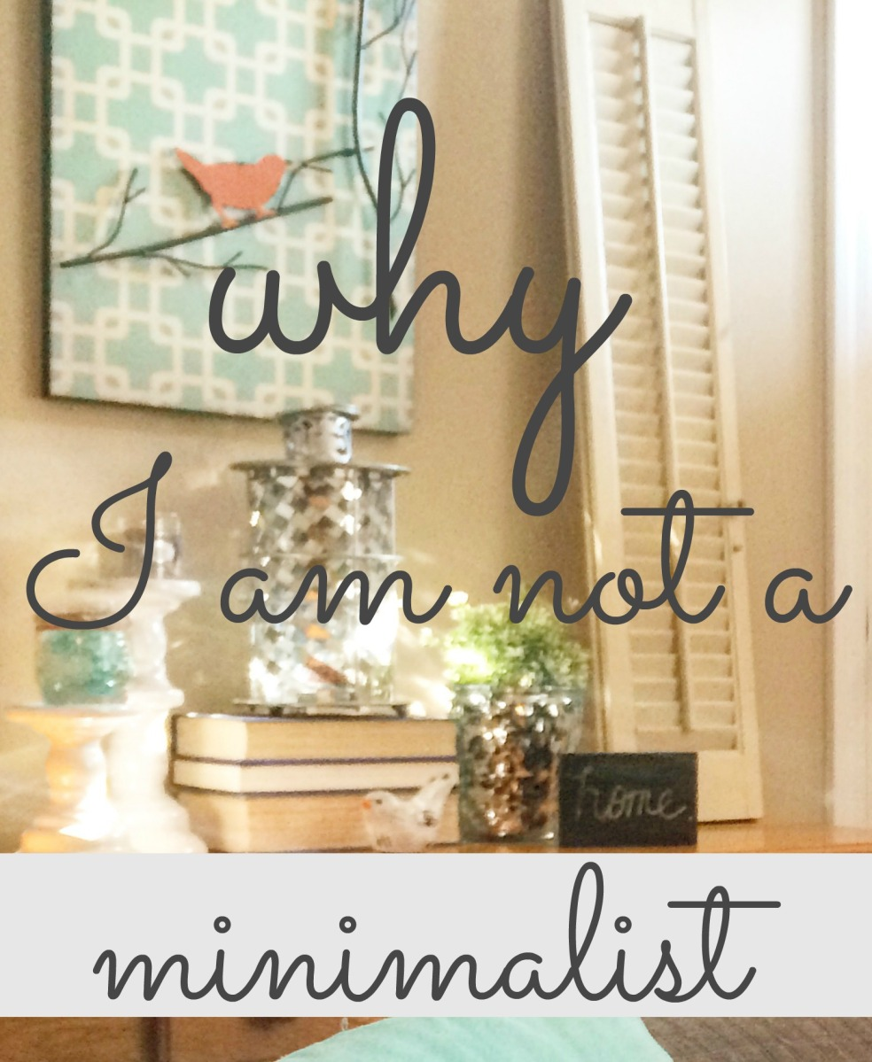 Why I Am Not A Minimalist
