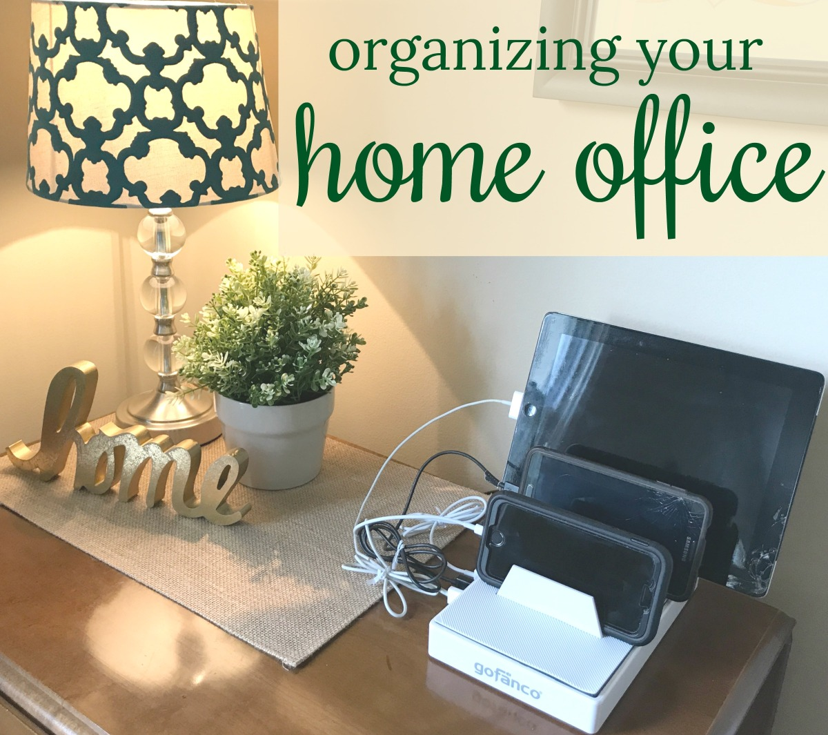 Organizing Your Home Office Come Home For Comfort