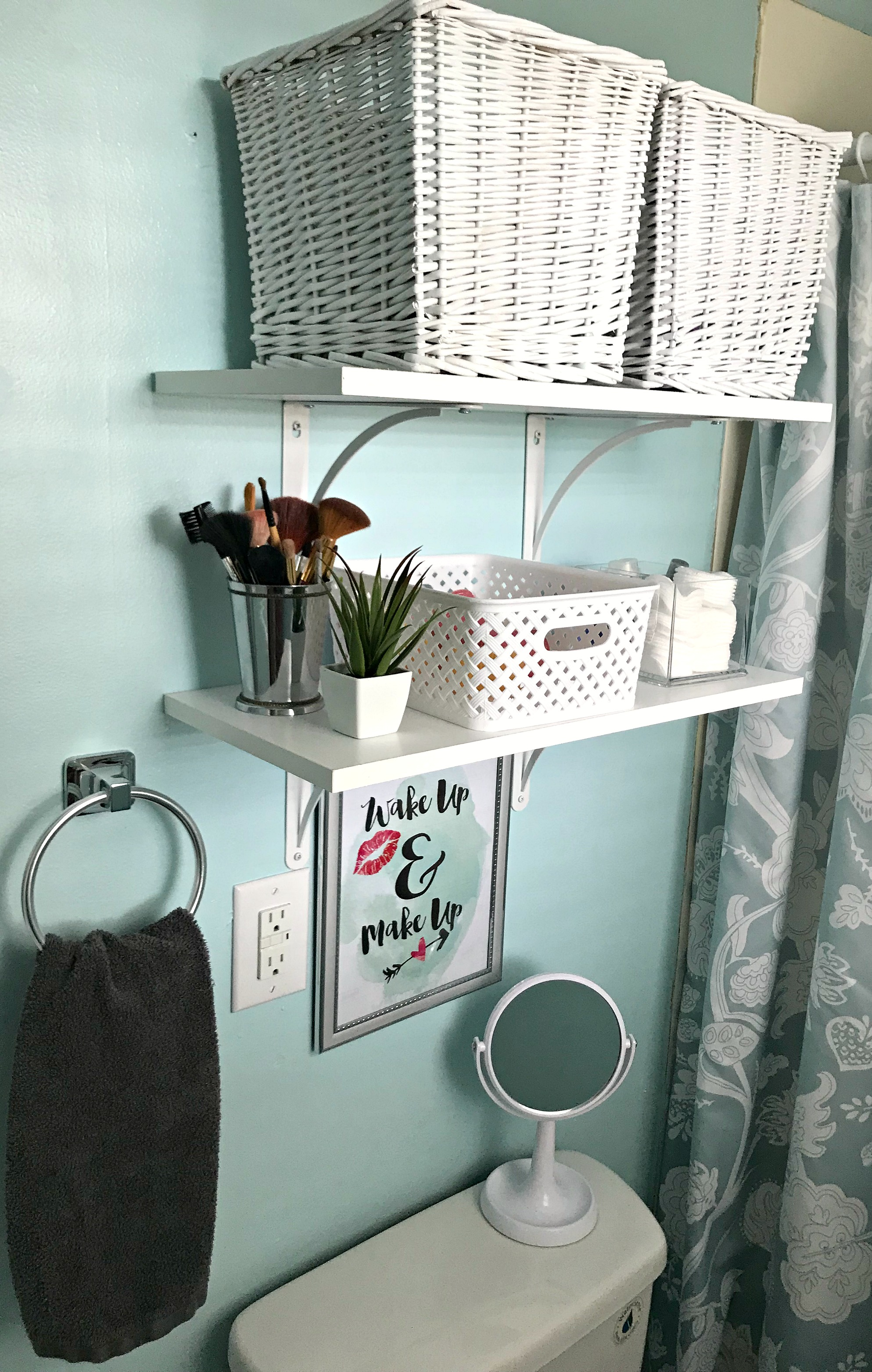 Bathroom Remodel Reveal {On A Budget} – Come Home For Comfort