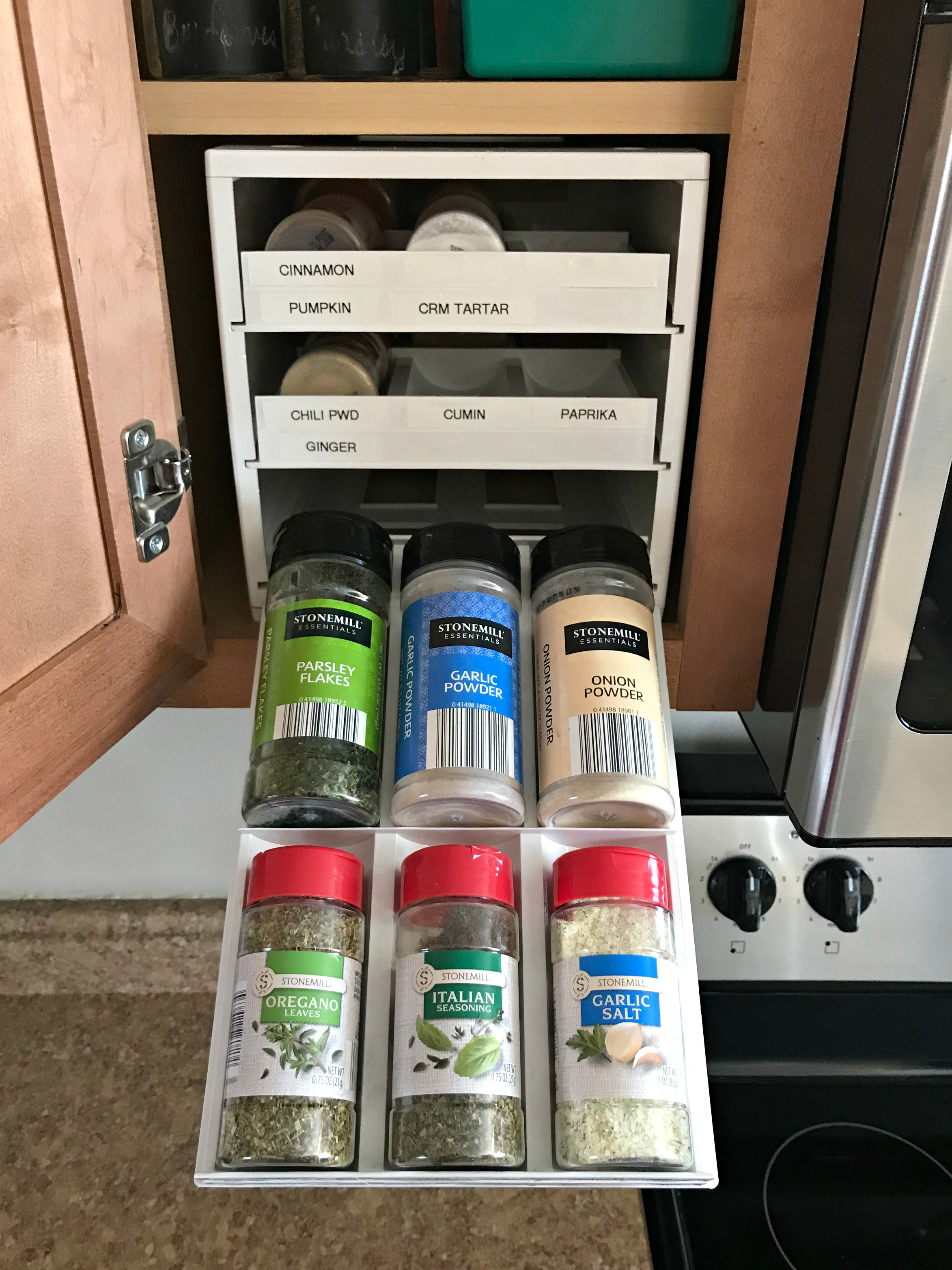 Sometimes The Smallest Things Make A Huge Difference! You Might Not Find  This System To Be The Best For You, But I Challenge You To Just Look At  Your Spices ...