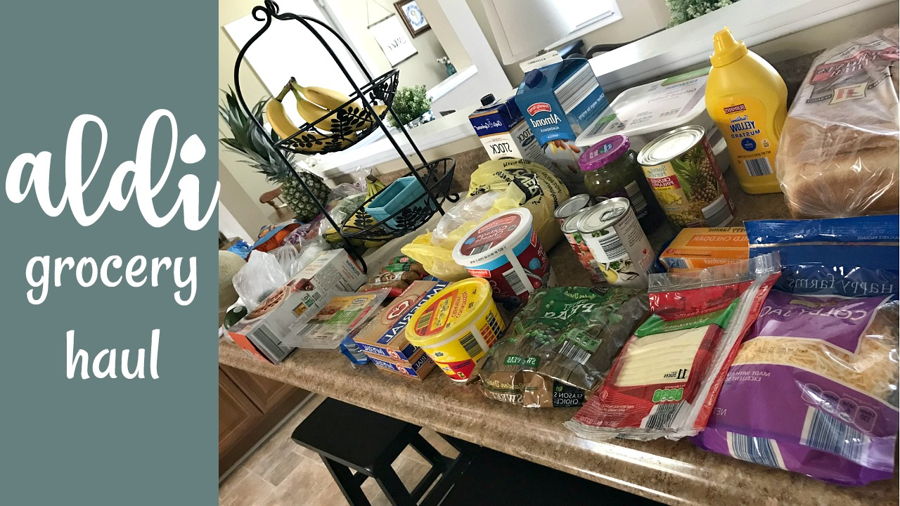 Aldi Grocery Haul | One Week of Groceries – Come Home For