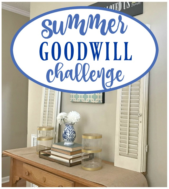Summer Goodwill Challenge – Come