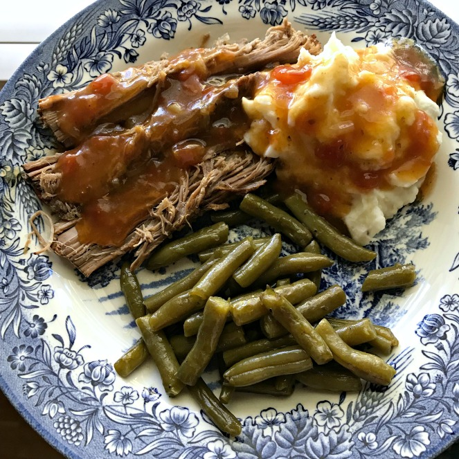 Menu Plan Monday Yankee Pot Roast