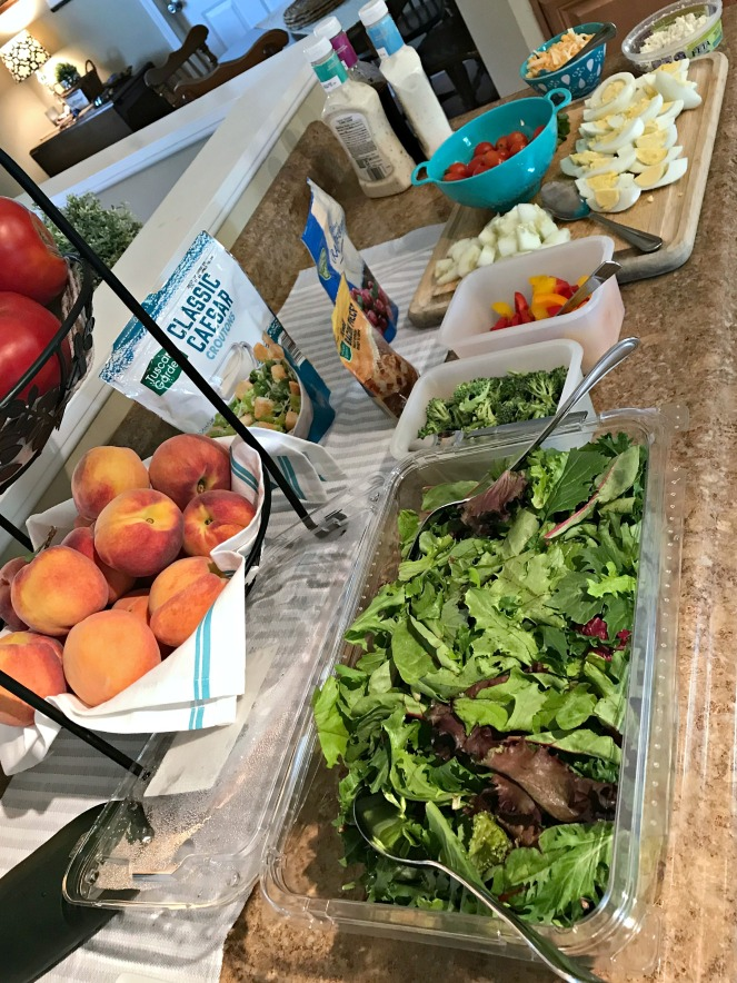 Company Salad Bar: Easy Summer Menu – Come Home For Comfort